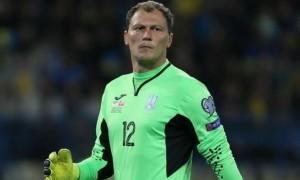 Пятов встановив рекорд за кількістю матчів за збірну України серед воротарів