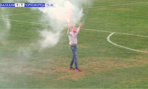 Чорноморець дограв скандальний матч із Балканами