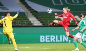Лейпциг на останній хвилині овертайму вирвав перемогу у Вердера та вийшов у фінал Кубка Німеччини
