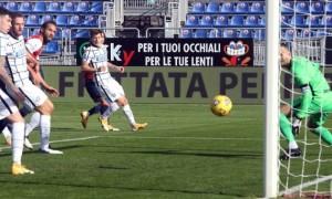 Інтер здобув вольову перемогу над Кальярі у 11 турі Серії А