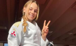 Білодід виборола першу в історії України медаль у жіночому дзюдо