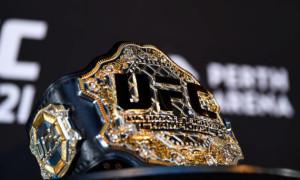 Стала відома вартість чемпіонського пояса UFC