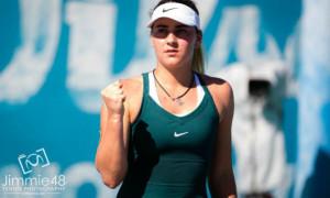 Костюк знищила Зіданшек на турнірі в ОАЕ