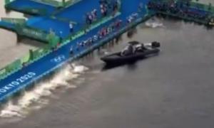 Телевізійний човен зірвав старт змагань на Олімпійських іграх