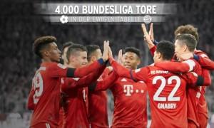 Баварія забила 4000 м'ячів у Бундеслізі
