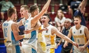 Україна розгромно програла Франції в 1/8 молодіжного Євробаскету-2019