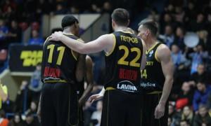 Київ-Баскет здійснив камбек у матчі з Вентспілсом у Кубку Європи ФІБА