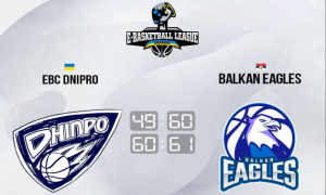 Сербська команда двічі перемогла eBC Dnipro у контрольному поєдинку