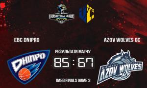 EBC Dnipro переміг Azov Wolves та вийшов вперед у серії
