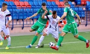 Гол українця допоміг Мінську розгромити Городею у 23 турі чемпіонату Білорусі