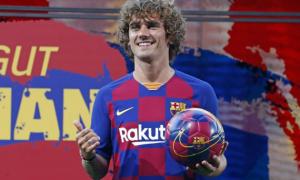Грізманн провів перше тренування із Барселоною
