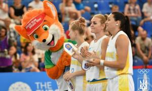 Жіноча збірна України з баскетболу 3х3 не вийшла з групи на ІІ Європейських іграх