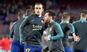 Мессі і Грізманн не розмовляють на тренуваннях Барселони