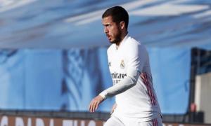 Азар повернувся до тренувань з Реалом