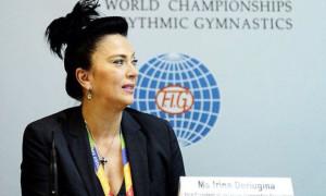 Дерюгіна пояснила, чому збірна України поїде на змагання у Москву