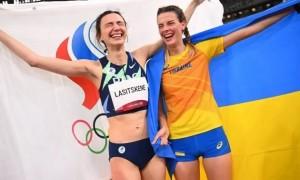 У Міноборони прокоментували фото Магучіх із російською спортсменкою
