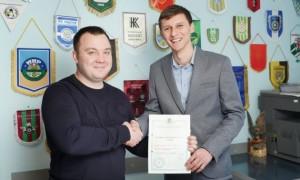 Колишній гравець Шахтаря став президентом команди Другої ліги