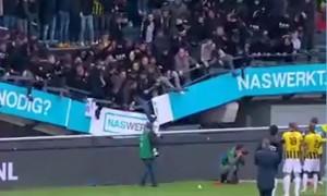 У Нідерландах під час матчу обвалилась трибуна з уболівальниками