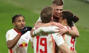 Лейпциг та Гольштайн Кіль впевнено пробилися у півфінал Кубка Німеччини