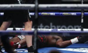 Вайт відсторонений від боксу майже на місяць після бою з Повєткіним