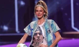 На конкурсі Міс Всесвіт учасниця вшанувала пам'ять Марадони