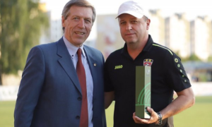 Вернидуб – найкращий тренер місяця в Білорусі