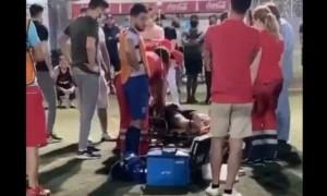 На міні-футбольному полі ОСК Металіст помер 25-річний громадянин Іраку