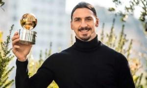 Ібрагімович став гравцем року у Швеції