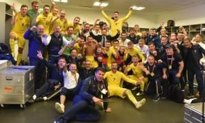 Збірна України показала найкращий результат за шість років у рейтингу ФІФА