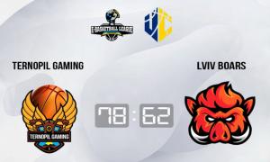 Ternopil Gaming здобув першу перемогу в чемпіонаті України,  вигравши у Lviv Boars
