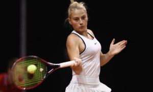 Костюк програла росіянці у першому колі турніру в Австрії