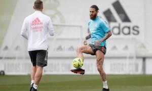 Рамос повернувся до загальної групи Реала