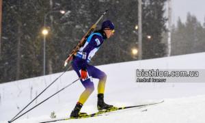 Тищенко виграв гонку переслідування на чемпіонаті України