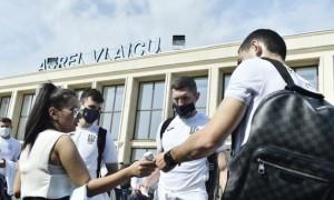 Збірна України прибула до Глазго
