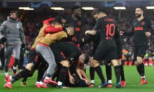 Атлетіко обіграв Ліверпуль в 1/8 Ліги чемпіонів