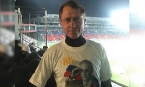 Кополовець: У Львові ображені на Кононова за футболку з Путіним