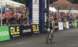 Українська велосипедистка стала срібною призеркою чемпіонату Європи