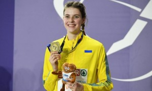 Відео дня. Переможний стрибок Магучіх на чемпіонаті Європи