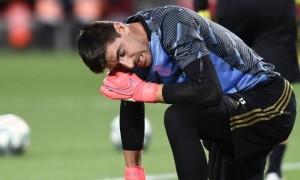 Конкурент Луніна у Реалі Куртуа отримав травму