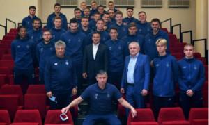 Зеленський зустрівся з ветеранами київського Динамо