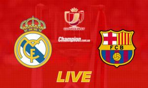 Пряма трансляція Реал - Барселона: ОНЛАЙН