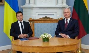 Президент України запропонував спільно з Литвою провести чемпіонат Європи