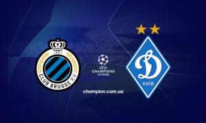 Брюгге - Динамо 1:0. Огляд матчу