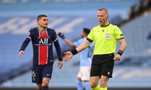 Вератті: Арбітр матчу Манчестер Сіті - ПСЖ образив мене