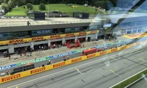Обидві Феррарі зійшли на початку Гран-прі Штирії