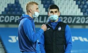 Маліновський та Коваленко у запасі Аталанти на матч з Наполі