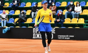 Світоліна здобула першу перемогу України на Кубку Біллі Джин Кінг