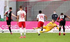 Лейпциг втратив перемогу над Гертою у 28 турі Бундесліги