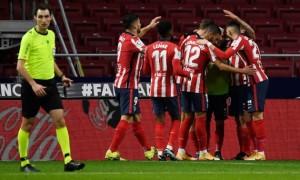 Атлетіко упевнено перемогло Валенсію в 20 турі Ла-Ліги