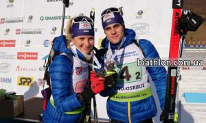 Українські біатлоністи виграли бронзу на Кубку IBU